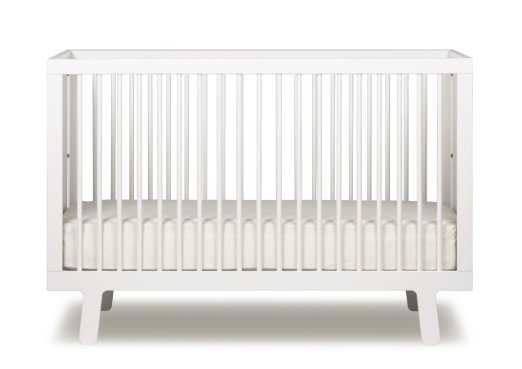 Oeuf Sparrow Crib - White - Amazon