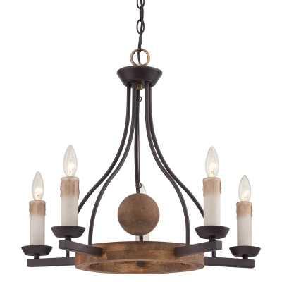 Quoizel Western Bronze Hampshire Chandelier - lightingdirect.com