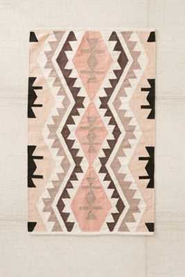 "Plum & Bow Samarkand Kilim Woven Rug - 5"" x 7"" - Urban Outfitters"
