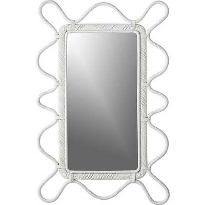 Brynlee Rectangular Wall Mirror - Crate and Barrel