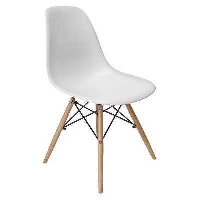 AEON Paris Molded Plastic Chair (Set of 2) - White - Target