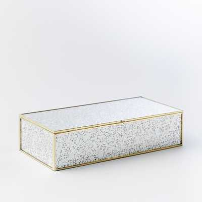 Foxed Mirror Jewelry Boxes - Large - West Elm