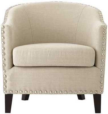 MORE CLUB CHAIR - Linen Oatmeal - Home Decorators