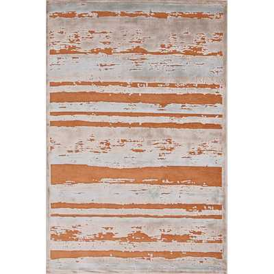 Fables Orange & Taupe Area Rug - AllModern