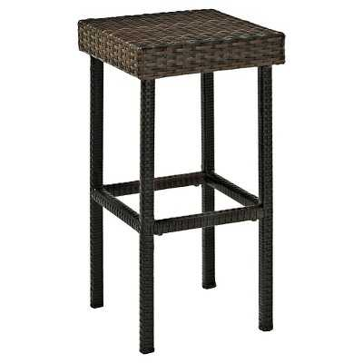 """Crosley Palm Harbor Outdoor Wicker 24"""" Counter Height Stools - Target"""