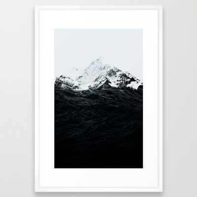 Those waves were like mountains - Society6