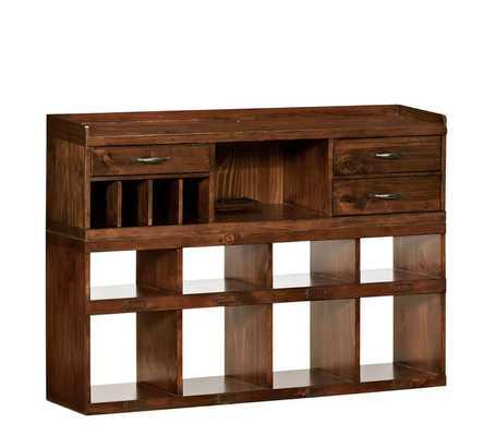 Olivia 2-Piece Bench & Organizer Set - Pottery Barn