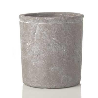 Fleur Decorative Stone Cylinder Container - AllModern