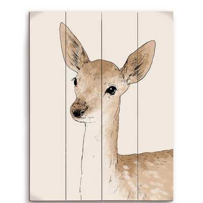 Painted Deer Graphic Art - Wayfair
