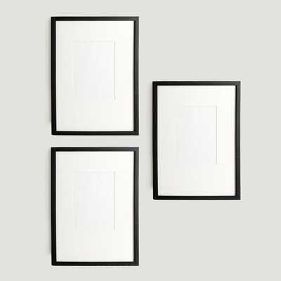 Gallery Frames Set of 3 - West Elm
