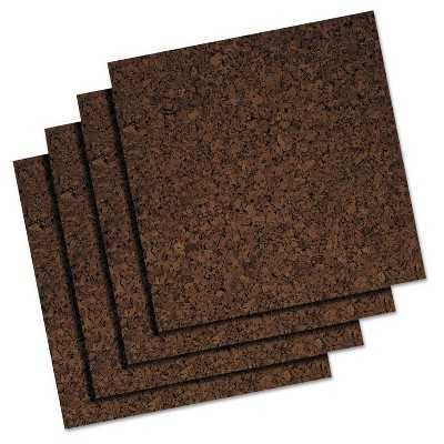 Quartet® Cork Panel Bulletin Board-4 Panels/Pack - Target