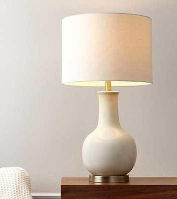 Abbyson Living Maybury Camel Ceramic Table Lamp - Tressle