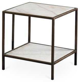 Mozart Bunching Table, Marble - One Kings Lane