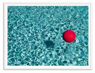 "Mark Paulda, Reflection Ball, Oversize - 50"" x 38"" - framed - One Kings Lane"