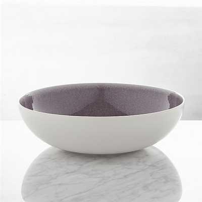 Jars Tourron Purple Serving Bowl - Crate and Barrel