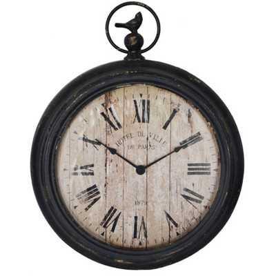 """14"""" Pocket Watch Wall Clock - Wayfair"""