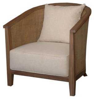 Bahiti Club Chair, Oatmeal - One Kings Lane