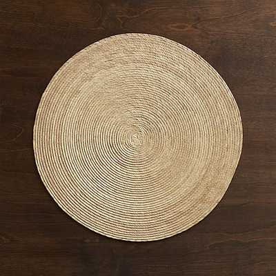 Tropical Palm Natural Placemat - Crate and Barrel