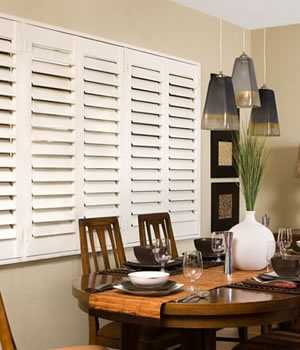 Wood Plantation Shutters - Shades Shutters Blinds