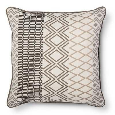 "Thresholdâ""¢ Multi Diamond Stripe Toss Pillow-Multi.-20""x20""-Insert - Target"