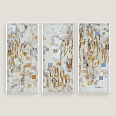 Blue and Gold Wall Art - World Market/Cost Plus