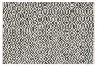 Milligan Rug, Ivory/Dark Gray - 8' x 10' - One Kings Lane