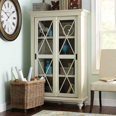 Wetherly Barrister Bookcase - Cream - Wayfair