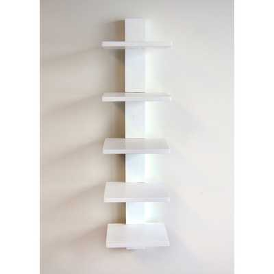 Spine Wall Book Shelves - Overstock