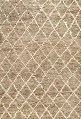 Manali Diamond Trellis Jute CW01 Rug - Rugs USA
