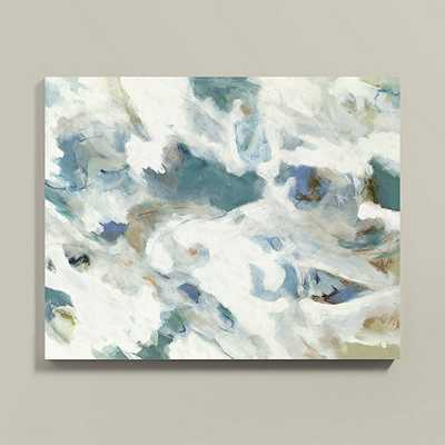Current on the Shore Art - 30x38 - framed - Ballard Designs