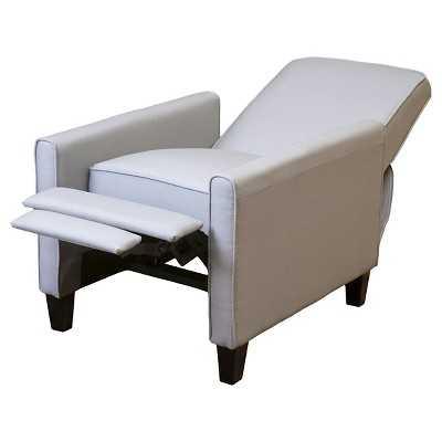Darvis Grey Recliner Club Chair - Target
