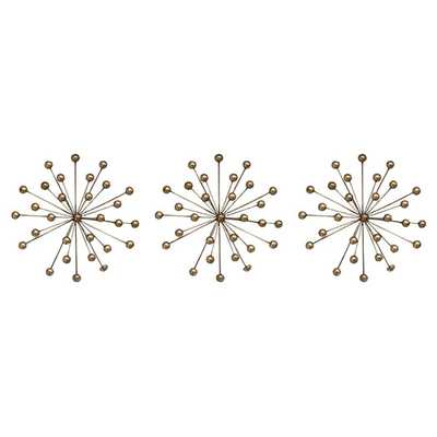 Burst Wall Décor  - Set of 3 - AllModern