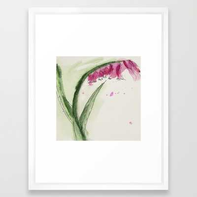 """Floral Painting - 20"""" X 26"""" - Framed - Society6"""