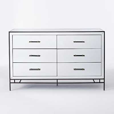 Mirrored 6-Drawer Dresser - West Elm