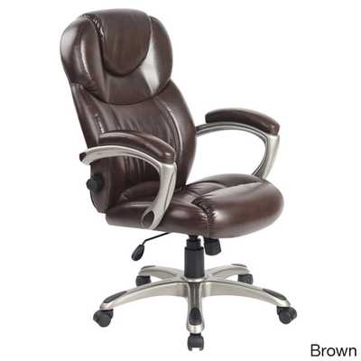 Comfort Products Granton Executive Chair with Adjustable Lumbar - Overstock