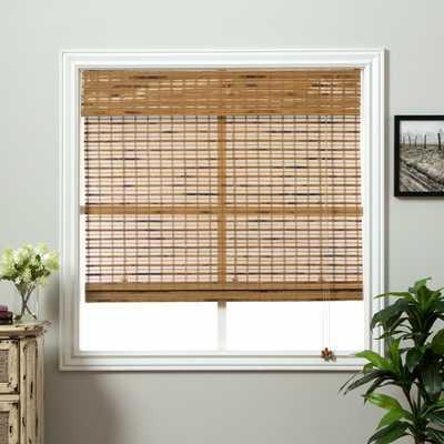 Dali Native Bamboo 74-inch Long Roman Shade - Overstock
