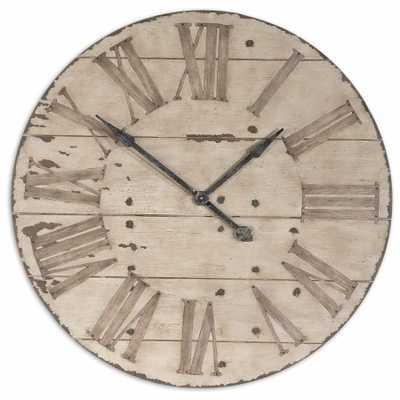 Harrington Oversized Wall Clock - Wayfair