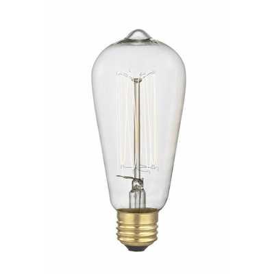 Edison Filament Light Bulb - World Market/Cost Plus