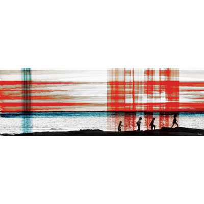 "Playa Vik - Art Print on Premium Canvas - 20"" X 60"" - AllModern"