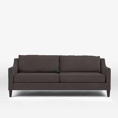 Paidge Sleeper Sofa - Basketweave, Putty Gray - West Elm