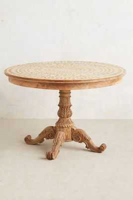 Floriate Inlay Table-Small-Natural - Anthropologie