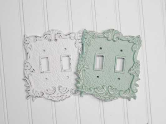 Double Light Switch Cover - Etsy