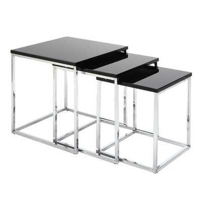 Jessie 3 Piece Nesting Tables - Wayfair