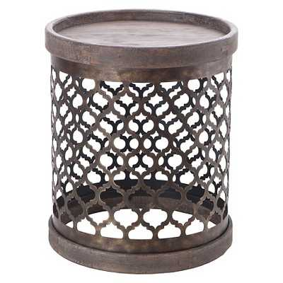 Cirque Wire Accent Table - Grey - Target