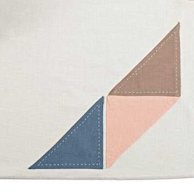 Pattern Casual Crib Skirt (Pink) - Land of Nod