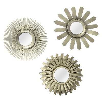 "Thresholdâ""¢ Starburst Mirror Set - 3 Pieces - Target"
