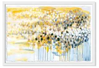 "Caroline Wright, Migration no. 4- 40""W x 27""H-Framed - One Kings Lane"