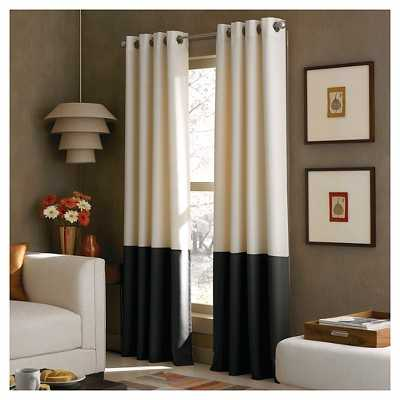 "Curtainworks Kendall Lined Curtain Panel - 52""W x 108""L - Target"