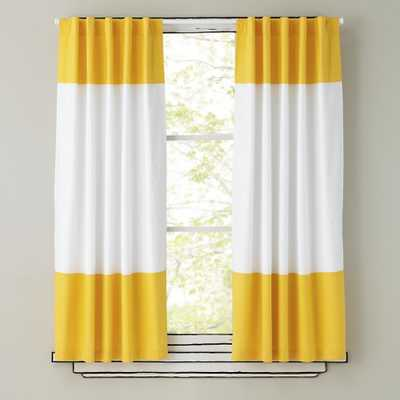 Color Edge Curtains - Land of Nod