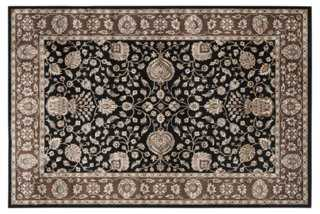 Liza Rug, Black/Red - One Kings Lane